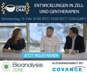 Coffee Chat: Entwicklungen in Zell- und Gentherapien